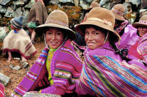 Indigenas in Peru